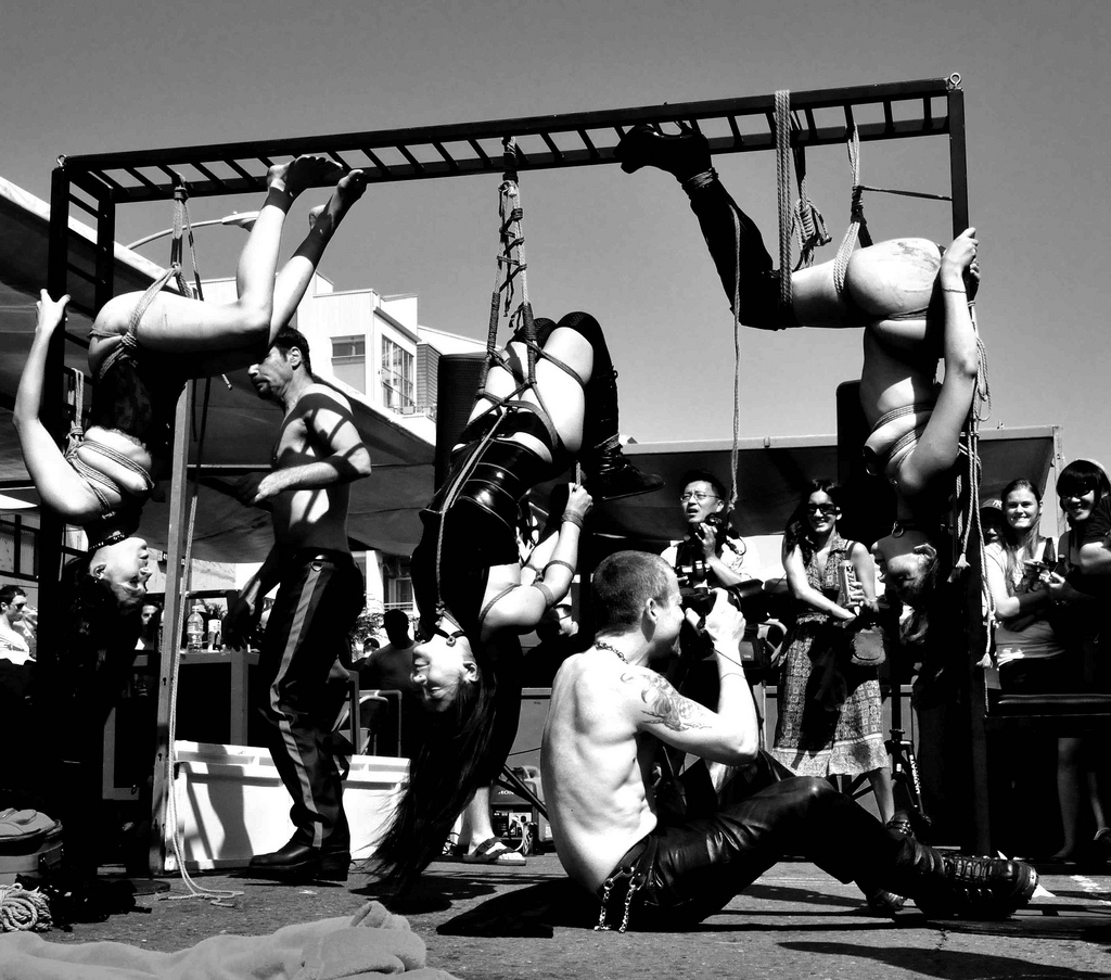 BDSM - Bondage ausprobieren